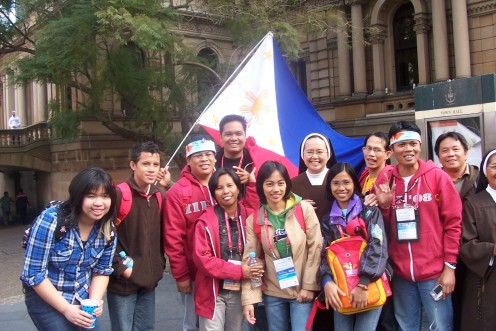 Pilgrims from the Philippines