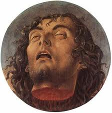 John The Baptist's severed head.
