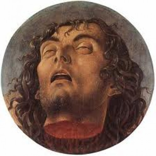 John The Baptist's severed head.