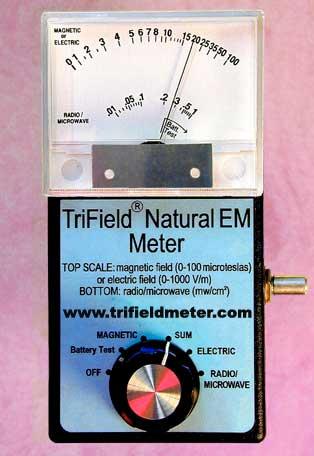 Tri-Field Natural EM meter (Tip 3)