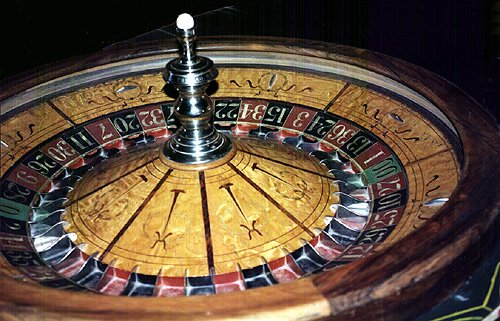 Roll of Chances - Roulette Wheel