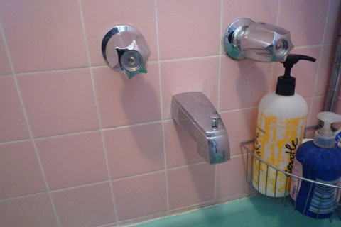 Typical US Tub Faucet
