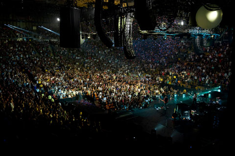 ColdPlay Viva La Vida Concert Tour