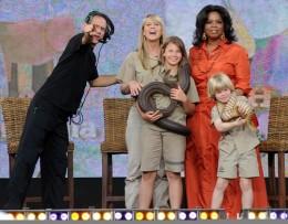 Oprah with Bindi and family!