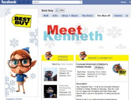 Best Buy built for Facebook with the ShopTab e-commerce system.