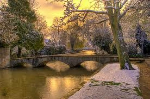 Bourton on the Water, The Cotswolds, Gloucestershire, UK