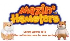 Webkinz Mazin Hamster Plush Toys Series 1 & 2 - 3D  On Line Game - Kids Gift