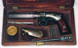 A boxed set with a standard grade pistol.