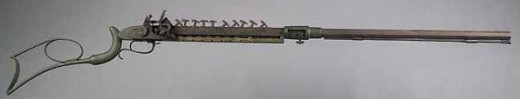 Lewis Jennings used the multiple load method to produce this rifle in 1821.  In 1849 he would redesign the Hunt repeater and the new rifle would bear his name.