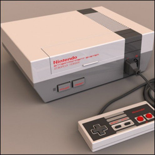 Somewhere, lurking in your garage, is one of these, a Nintendo NES Game System