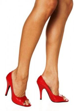 Good News about High Heels: They Build Muscle