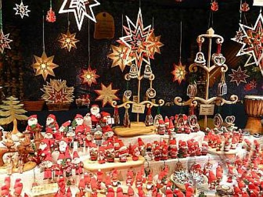 Germany is known for its wonderful Christmas markets. Each year people flock from all over the world to browse the wonderful shops that offer Christmas goods.