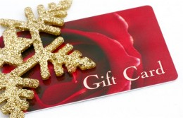 4.) Gift Card
