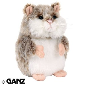 Webkinz Mazin hamster