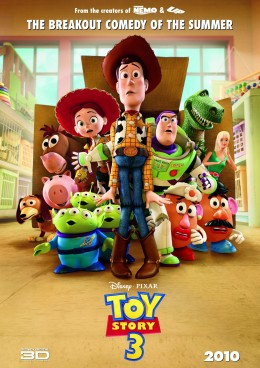 "The final theatrical poster for Disney/ Pixar's ""Toy Story 3."""