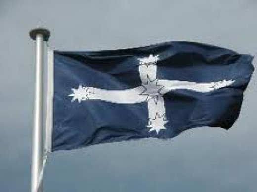 The Flag Of The Southern Cross