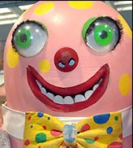 Mr Blobby stormed the charts in 1993