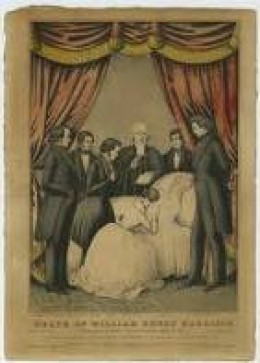 Death of William Henry Harrison