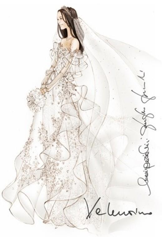 Valentino for Kate Middleton