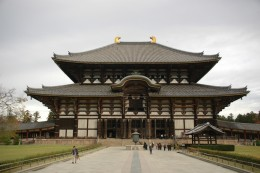 Todai-ji The Great Eastern Temple is the largest wooden building in the world.