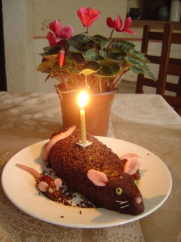 This cake is delicious, super easy to make, cheap and will raise a laugh! Great fun to do with kids.