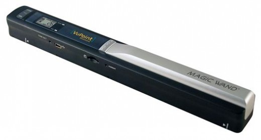 Save time and money with a hand held portable scanner  the Magic Wand by VuPoint.