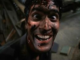Bruce Campbell, star of Sam Raimi's Evil Dead films.