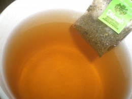 Green tea is soothing and relaxing specially when taken hot.