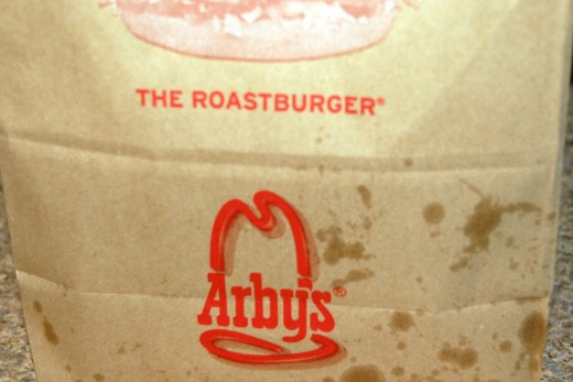 Arby's for supper...It was easier than buying groceries