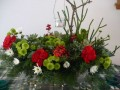 How to Make Your Own Fresh Floral Christmas Centerpiece II: Easy and Cheap