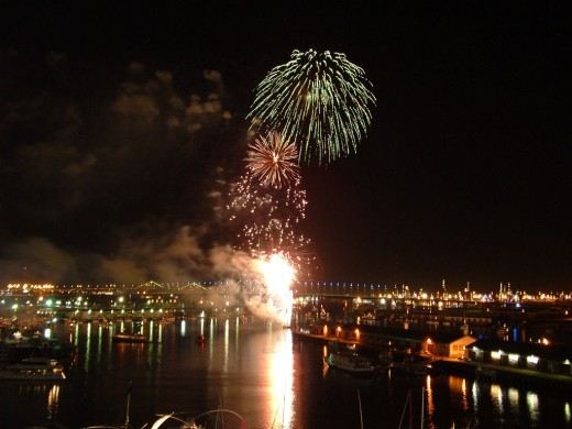 New Year's Eve fireworks, Melbourne Docklands