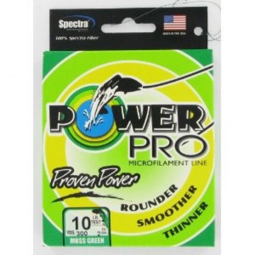Power Pro Spectra Line - Moss Green