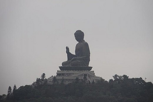 How could you not sense the peace and tranquility radiating from this giant Buddha?
