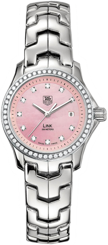 Womens Luxury Watches from the Avant Garde Swiss watchmaker Tag Heuer in pink