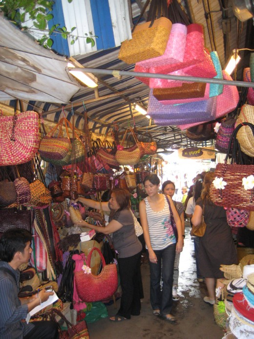 Wandering through Chatuchak Market