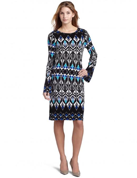 Nicole Miller's Erte Dress