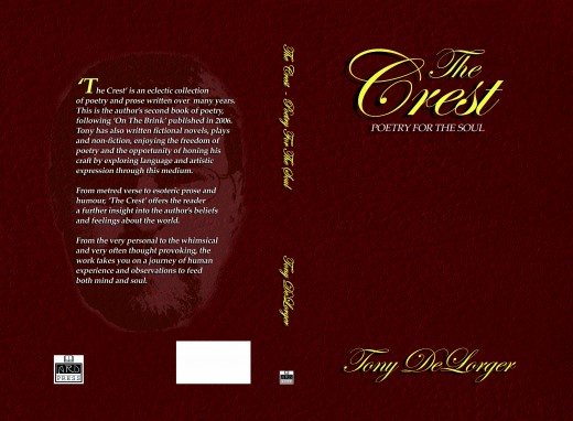 Cover- 'The Crest-Poetry for the Soul'
