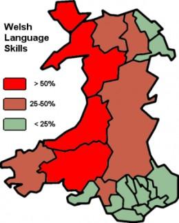 Welsh Language Skills, 2001 Census.