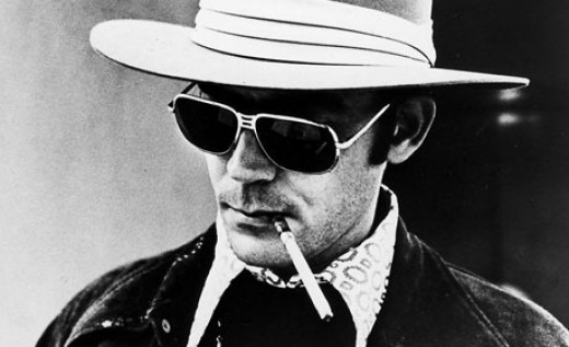 Hunter S. Thompson (1939 - 2005)   US journalist