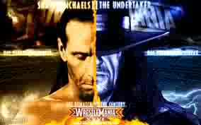 Shawn Michaels vs. The Undertaker Wrestlemania 26