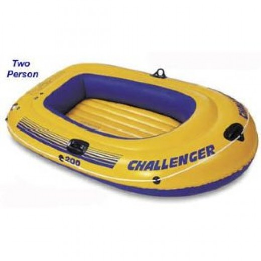 Challenger 200 Inflatable Boat Raft 2 person two man 68334