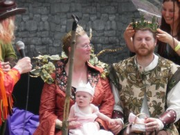 King and Queen, Fairy Festival Spoutwood Farm 2010