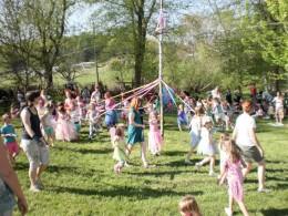 Maypole, Fairy Festival Spoutwood Farm 2010