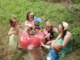 Storytime, Fairy Festival Spoutwood Farm 2010