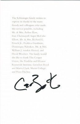 Carl Bernstein autograph. Yes, the same Bernstein from Woodward and Bernstein at the Washington Post, portrayed in the film All The Presdent's Men.