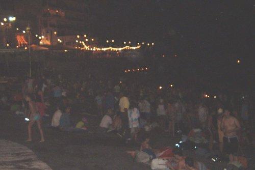 Beach on the night of San Juan