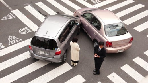 Auto insurance saves money if car accident happens