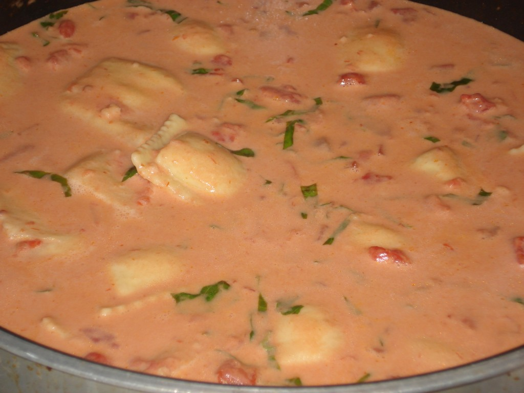 Easy Tomato Vodka Cream Sauce Recipe You Can Make Ahead and Freeze