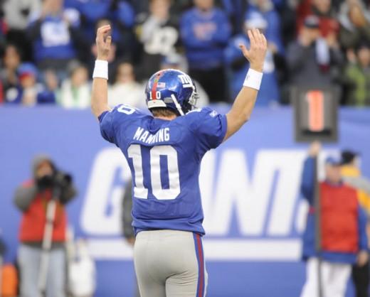 Eli Manning QB NY Giants 2011