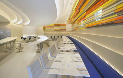 The Wright Restaurant in Guggenheim Museum